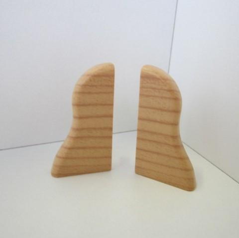 2 Abschlusskappen für Sockelleiste K40 - Kirsche hell