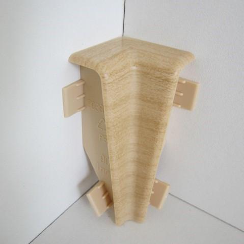 2 Innenecken für Sockelleiste K58 - Ahorn, Esche (evtl. Buche oder Eiche hell)