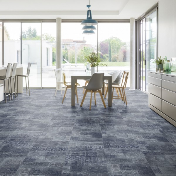 Gerflor Glue down 30 und 55 - Lorca Blue 03