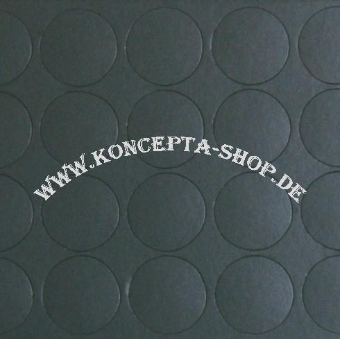Abdeck-Klebepunkte 20059 Anthrazit1 20mm