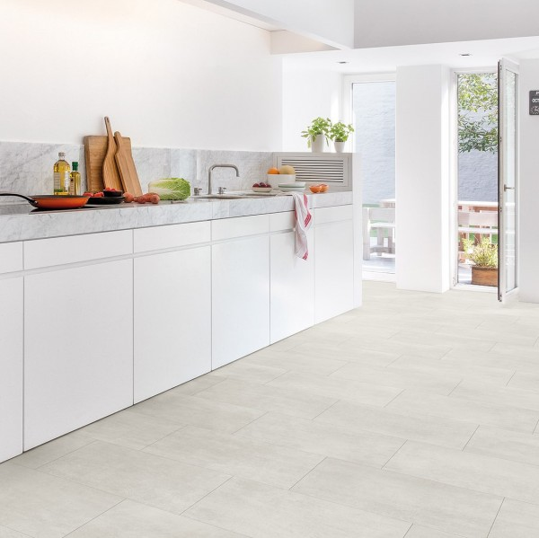 QuickStep 4,5mm Ambient Click - Marmor Carrara Weiß AMCL 40136 I AMCP 40136