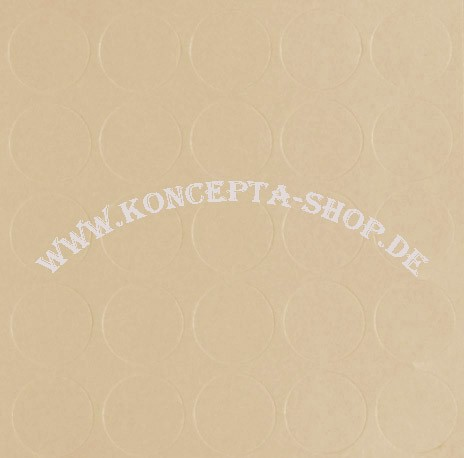 Abdeck-Klebepunkte 14094 Vanille 14mm