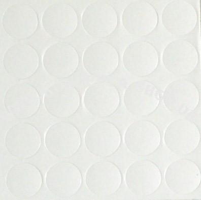 Abdeck-Klebepunkte 14320 Weiss 14mm