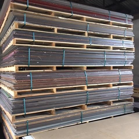 Wasserfeste Kompaktplatte (Fassadenplatte) - B-Ware