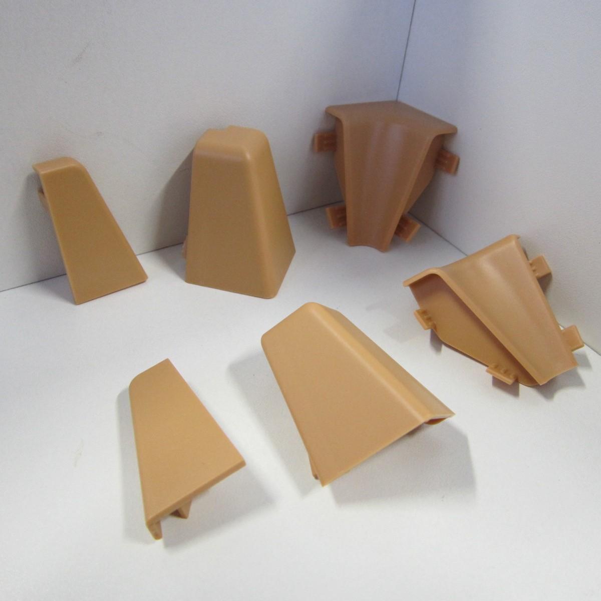 ecken set f r sockelleiste k40c beige koncepta bodenwelten. Black Bedroom Furniture Sets. Home Design Ideas