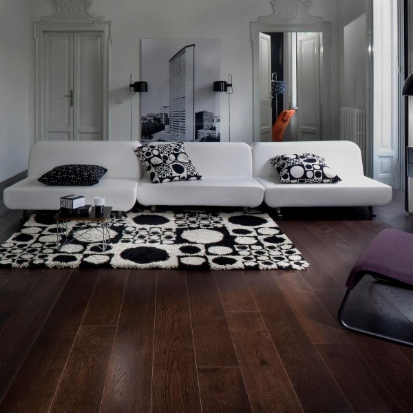 Classic Nouveau Collection - Eiche Nouveau Black Mattlack
