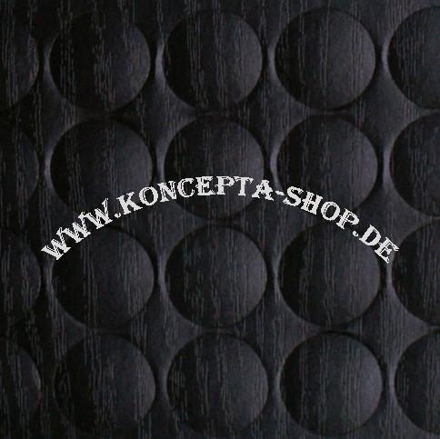 Abdeck-Klebepunkte 20324 Schwarz 20mm