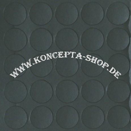 Abdeck-Klebepunkte 14052 Graphit hell 14mm