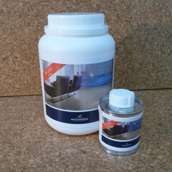 Wasserlack W-2000 2 Komponenten für cork