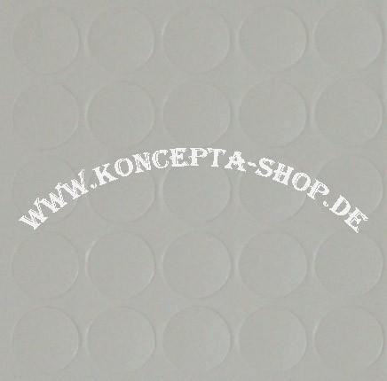 Abdeck-Klebepunkte 14303 Weissgrau 14mm