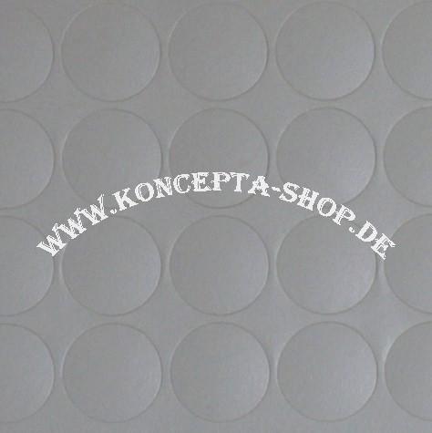 Abdeck-Klebepunkte 20307 Aschgrau 20mm