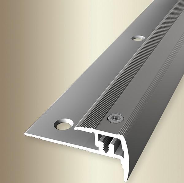 Treppenkantenprofil 2,70m - Typ 325 Euro-Step®Star Edelstahl