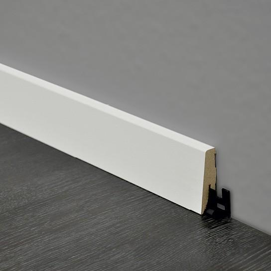 ter Hürne Sockelleiste SKL 60 Weiß matt (überstreichbar)
