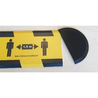 Set Endkappen für Hinweis-Profile (40mm)