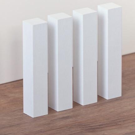 Universal Holz-Eckstab weiß 18 - 20 mm