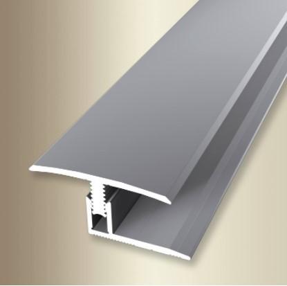 Übergangsprofil 2 m - Typ 558 Mono-Clip (7-12mm) Edelstahl