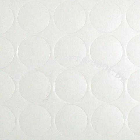 Abdeck-Klebepunkte 20320 Weiss 20mm