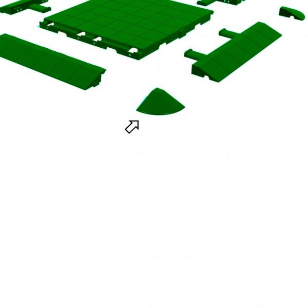 SysteMa - Ecke - Grün