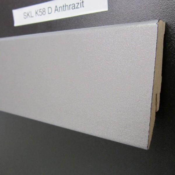 Sockelleiste K58 D002 Anthrazit Dekor